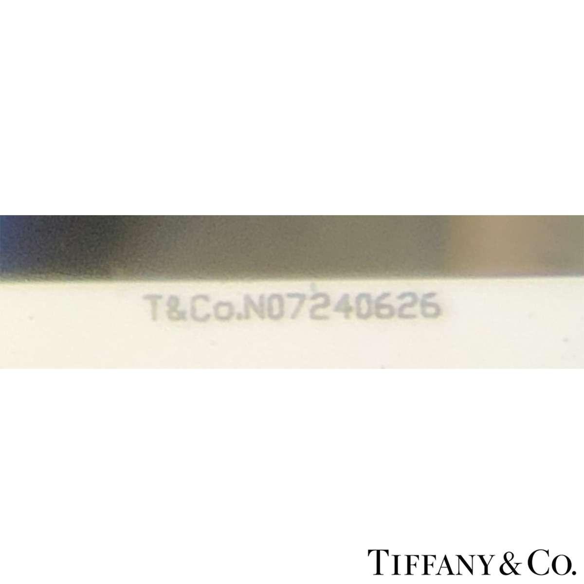 Tiffany & Co. Round Brilliant Cut Diamond Ring 1.06ct G/VS1